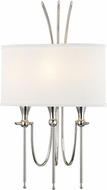 Hudson Valley 4303-PN Damaris Contemporary Polished Nickel Wall Sconce Light