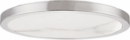 Hudson Valley 4318-PN Woodhaven Contemporary Polished Nickel LED 18 Ceiling Light Fixture