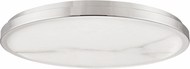 Hudson Valley 4324-PN Woodhaven Contemporary Polished Nickel LED 24 Flush Mount Lighting