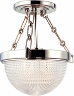 Hudson Valley 4409-PN Winfield Contemporary Polished Nickel Overhead Light Fixture