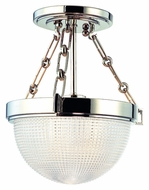 Hudson Valley 4409 Winfield Contemporary 10 Inch Diameter Semi Flush Lighting