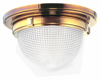 Hudson Valley 4412 Winfield Flush Mount Small 11 Inch Diameter Ceiling Light Fixture With Multiple Finishes