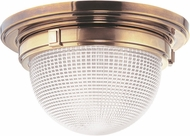 Hudson Valley 4415-AGB Winfield Contemporary Aged Brass 14.75 Ceiling Light Fixture