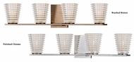 Hudson Valley 4474 Conway 4 Lamp Transitional Xenon Vanity Lighting For Bathroom