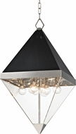 Hudson Valley 4515-PN Coltrane Contemporary Polished Nickel 15  Foyer Light Fixture