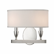 Hudson Valley 4542-PN Bancroft Polished Nickel Wall Light Fixture
