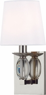 Hudson Valley 4611-PN Cameron Polished Nickel Wall Light Fixture