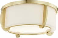 Hudson Valley 4613-AGB Talon Contemporary Aged Brass 13  Overhead Light Fixture