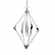 Hudson Valley 4623-PN Lyons Modern Polished Nickel Entryway Light Fixture
