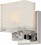 Hudson Valley 4661-PN Hartsdale Modern Polished Nickel Xenon Wall Lighting Sconce