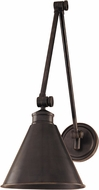 Hudson Valley 4721-OB Exeter Retro Old Bronze Wall Swing Arm Lamp