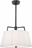 Hudson Valley 4824-OB Humphrey Old Bronze 24  Drum Pendant Light Fixture
