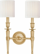 Hudson Valley 4902-AGB Abington Aged Brass Wall Mounted Lamp