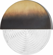 Hudson Valley 4911-GB Walden Contemporary Gradient Brass LED Lighting Sconce
