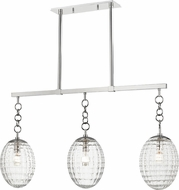 Hudson Valley 4940-PN Venice Modern Polished Nickel Island Light Fixture