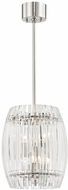 Hudson Valley 5010-PN Freeze Modern Polished Nickel Mini Hanging Pendant Light