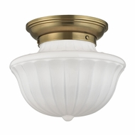 Hudson Valley 5012F-AGB Dutchess Aged Brass Ceiling Lighting