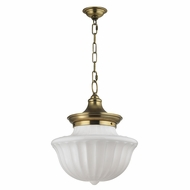 Hudson Valley 5015-AGB Dutchess Aged Brass Ceiling Light Pendant