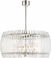 Hudson Valley 5030-PN Freeze Contemporary Polished Nickel 30 Drop Lighting