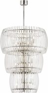 Hudson Valley 5050-PN Freeze Contemporary Polished Nickel Ceiling Light Pendant