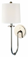 Hudson Valley 511-PN Jericho Polished Nickel Finish Transitional 20 Inch Tall Wall Mounted Light Sconce