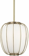 Hudson Valley 5114-AGB Ephron Contemporary Aged Brass Pendant Lighting