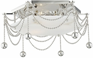 Hudson Valley 5217-PN Zariah Contemporary Polished Nickel Flush Lighting