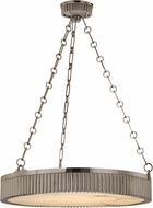 Hudson Valley 522-AN Lynden Retro Antique Nickel 22  Drum Pendant Light