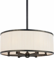 Hudson Valley 5224-OB Hastings Old Bronze 24  Drum Drop Ceiling Light Fixture