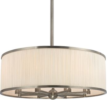 Hudson Valley 5230-HN Hastings Historic Nickel 30  Drum Hanging Light