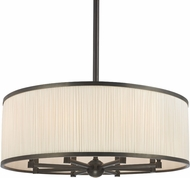 Hudson Valley 5230-OB Hastings Old Bronze 30  Drum Pendant Light Fixture