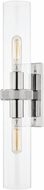 Hudson Valley 5302-PN Briggs Contemporary Polished Nickel Wall Lighting Fixture