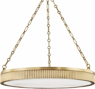 Hudson Valley 532-AGB Lynden Modern Aged Brass Drop Ceiling Lighting