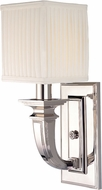 Hudson Valley 541-PN Phoenicia Polished Nickel Wall Light Sconce