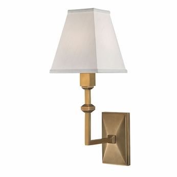 Hudson Valley 5500-AGB Tilden Aged Brass Wall Sconce