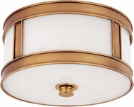 Hudson Valley 5510-AGB Patterson Aged Brass 10 Home Ceiling Lighting