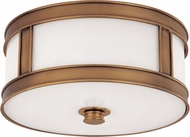 Hudson Valley 5513-AGB Patterson Aged Brass 13 Ceiling Light