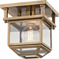 Hudson Valley 5608-AGB Rutherford Aged Brass 7.5  Ceiling Lighting