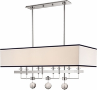 Hudson Valley 5648-PN Gresham Park Polished Nickel Kitchen Island Light