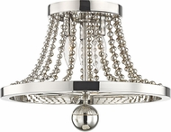 Hudson Valley 5710-PN Spool Contemporary Polished Nickel Overhead Lighting