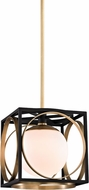 Hudson Valley 5810-AGB Wadsworth Modern Aged Brass Mini Pendant Lighting Fixture