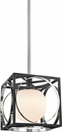 Hudson Valley 5810-PN Wadsworth Contemporary Polished Nickel Mini Hanging Pendant Lighting