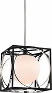 Hudson Valley 5814-PN Wadsworth Contemporary Polished Nickel 13.5  Pendant Hanging Light