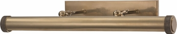 Hudson Valley 5824-AGB Ridgewood Aged Brass Picture Light