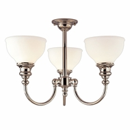 Hudson Valley 5913F Sutton 14.5 Inches Tall Chandelier Light