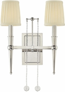 Hudson Valley 6002-PN Laurel Contemporary 2 Light Wall Sconce