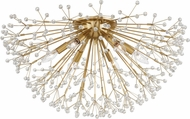 Hudson Valley 6028-AGB Dunkirk Contemporary Aged Brass Overhead Lighting Fixture
