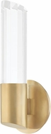 Hudson Valley 6051-AGB Rowe Modern Aged Brass LED Wall Lamp