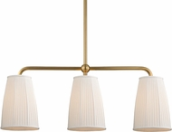 Hudson Valley 6063-AGB Malden Aged Brass Kitchen Island Light