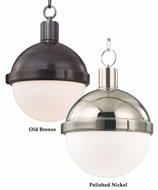 Hudson Valley 609 Lambert Transitional Small 9 Inch Diameter Round Glass Ball Hanging Light Fixture